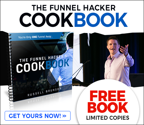 Get A FREE Copy Of The Funnel Hacker's Cookbook!