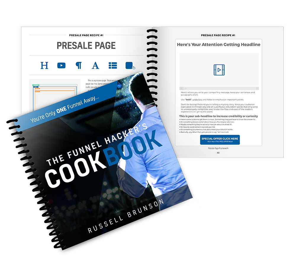 Grow your business - funnel cookbook